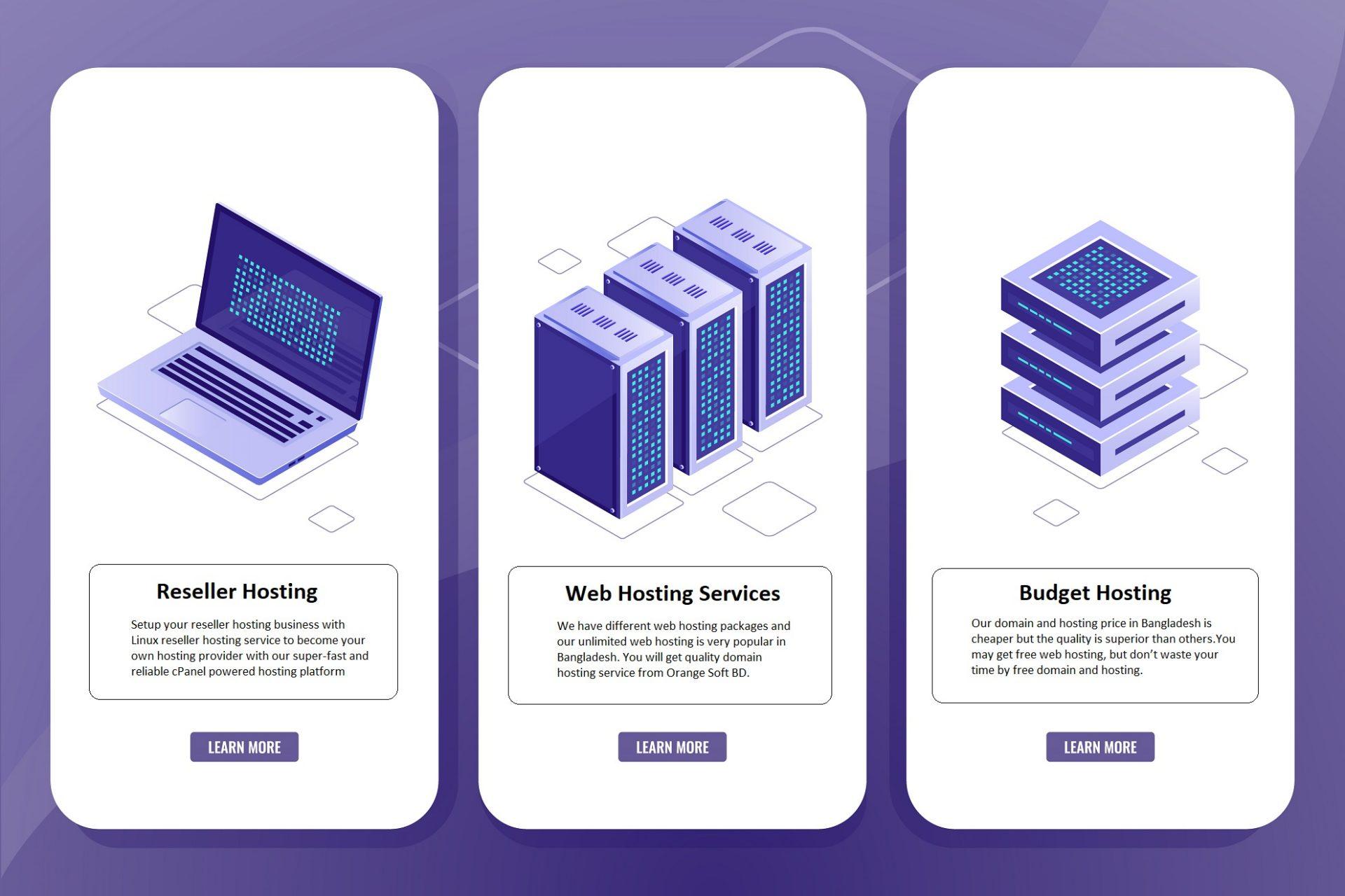 Budget Hosting for web hosting